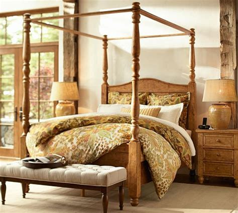 Pottery Barn Canopy Bed Cortona Canopy Bed Dresser Set Pottery Barn Decor Pinterest Duvet Covers Canopy Beds