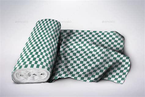 Pattern Fabric Mockup | fabric pattern mockup by ejanas graphicriver