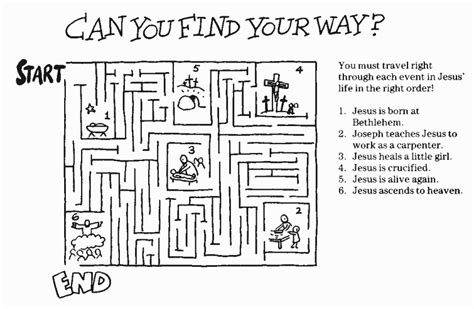 printable religious mazes bible mazes and puzzles master mind and logic games