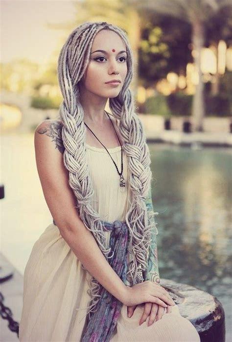 locs dallas caucasian dreads dreads and colored hair pinterest