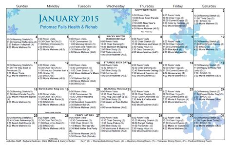 activity calendar template search results for january calendar worksheet 2015