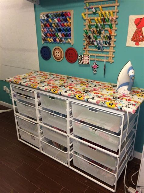 Quilt Fabric Storage Ideas by Best 25 Sewing Room Storage Ideas Only On