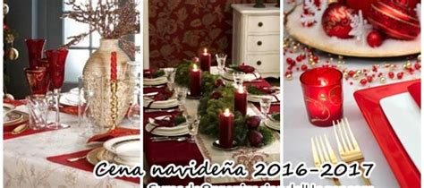 decorar mesa navidad para cena ideas para decorar tu mesa para la cena navide 241 a curso