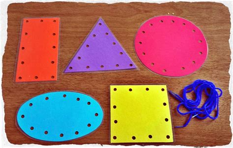 lacing card templates preschool craft kits from pint size projects