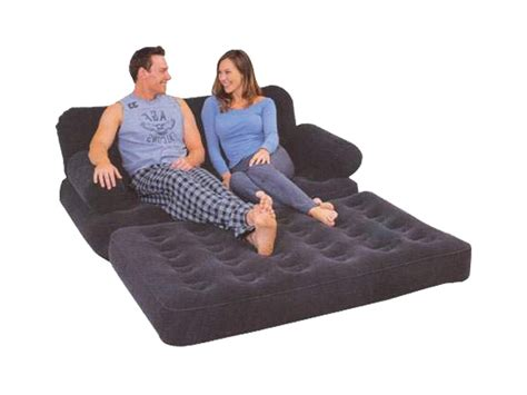 blow up couch bed flocked 5 in 1 multifunctional double blow up inflatable