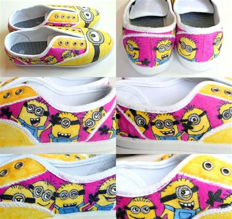 diy minion shoes 1000 images about fabric painting diy on