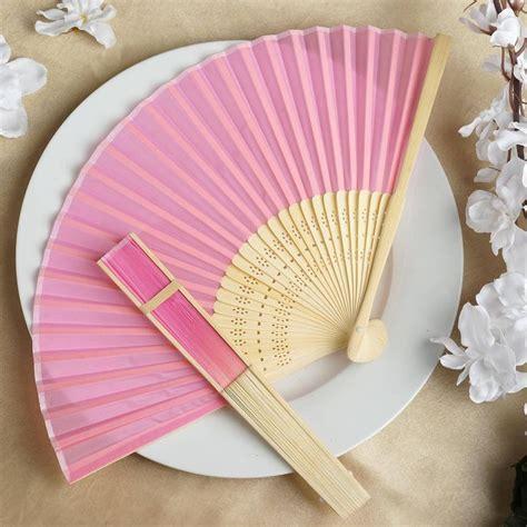 silk folding fans best 20 wedding fans ideas on