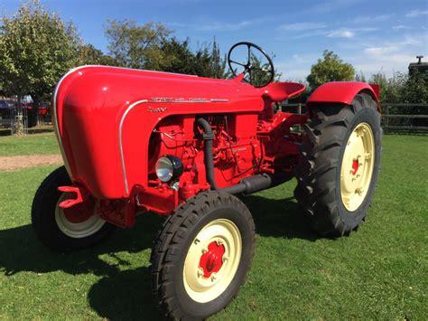 porsche tractors 1959 porsche tractor for the collector who wants