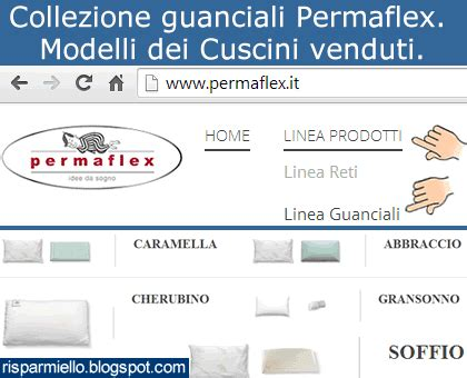 cuscini permaflex risparmiello collezione guanciali permaflex