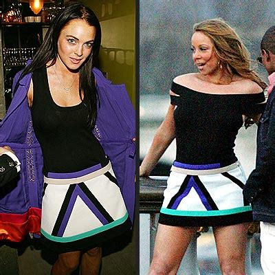 Lohan Vs Schiffer Who Wore It Better by Fashion Faceoff