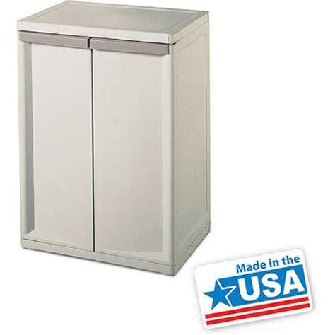 sterilite 2 shelf storage cabinet walmart