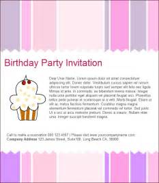 invitation email templates birthday invitation email template 27 free psd eps
