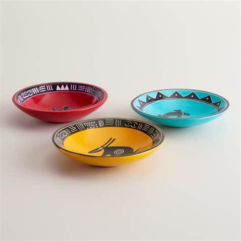 Kisii Soapstone kisii soapstone animal bowls set of 3 world market