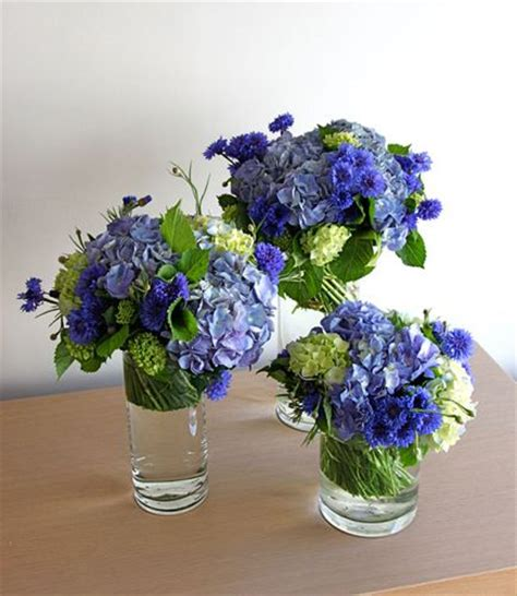 blue hydrangea centerpiece 25 best blue hydrangea centerpieces ideas on