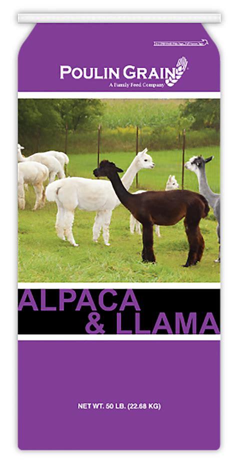 poulin alpaca llama maintenance pellet  lb