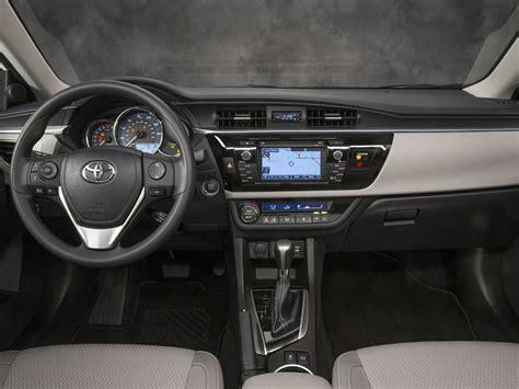 Toyota Interior 2016 Toyota Corolla Price Photos Reviews Features