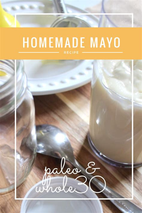 How To Make Whole30 Mayo
