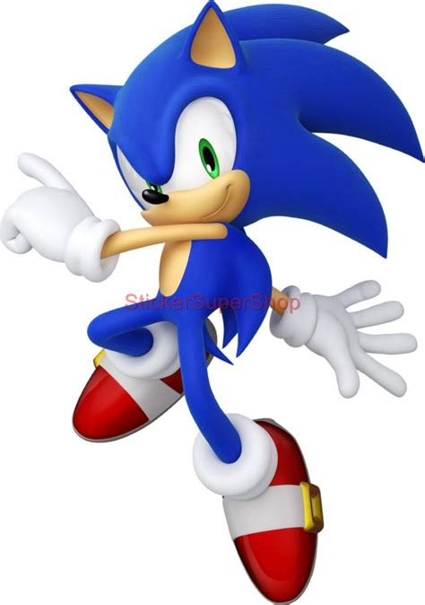 sonic wall stickers choose size sonic decal removable wall sticker home decor no 2 ebay