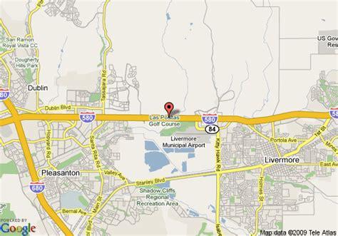 pleasanton california map map of comfort inn livermore pleasanton