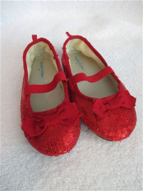 toddler ruby slippers glitter shoes sz 4 toddler dorothy ruby slippers