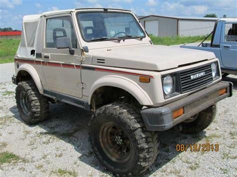 Suzuki Samuri Parts Find Used 1988 Suzuki Samurai 4 X 4 And 1987 Suzuki