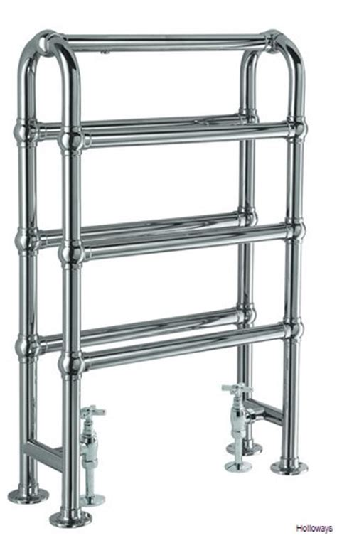 free standing electric towel rails for bathrooms traditional floor standing heated double towel rail