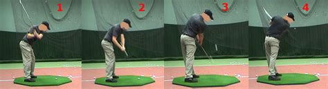 golf body swing downswing