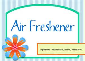 Air Freshener Label Image Gallery Air Freshener Labels