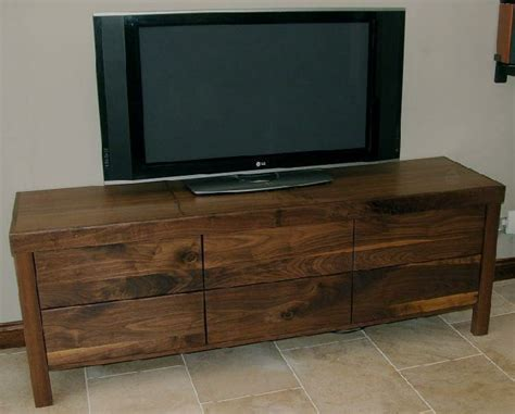 Dvd Storage Shelves Cabinets by American Black Walnut Tv Cabinet