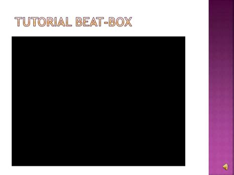 membuat pattern beatbox satria mahardika ashari