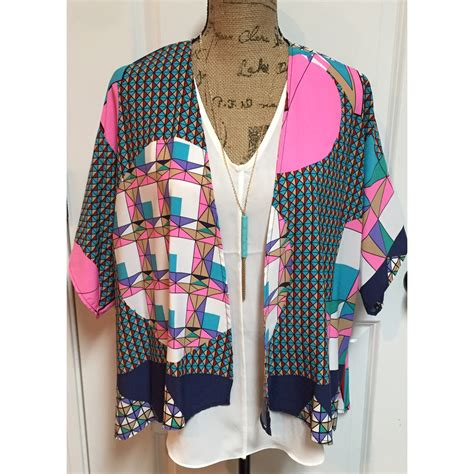 Sweater Ceetah Geometric geometric cardigan 183 jaded bliss boutique 183 store powered by storenvy