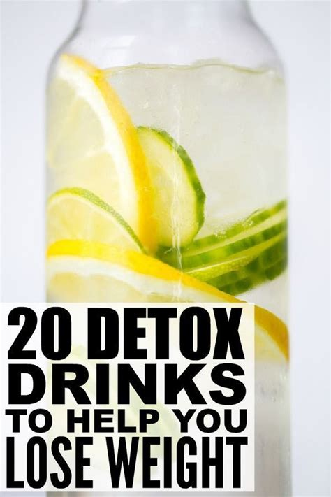 Easy Detox Drinks To Loss Weight by Detox Drinks To Help You Lose Weight Detox Inspiration