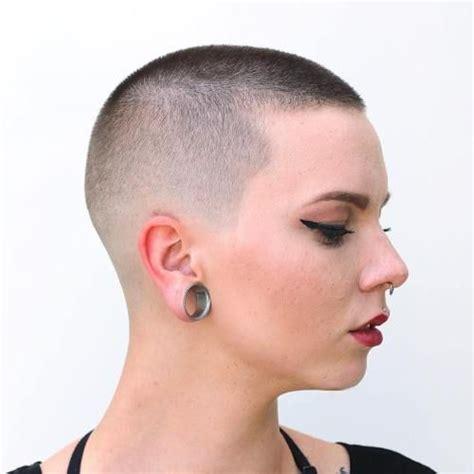 ideas  buzz cuts  pinterest buzz cut hairstyles buzz cut women  pixie buzz cut