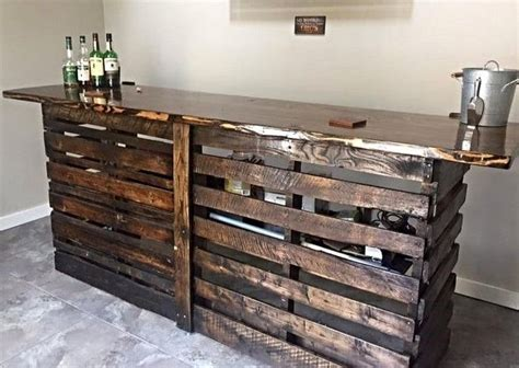 woodwork bar 25 best ideas about pallet bar on bar made