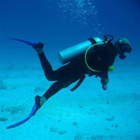 to dive scuba diving