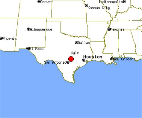 where is kyle texas on the map kyle texas map