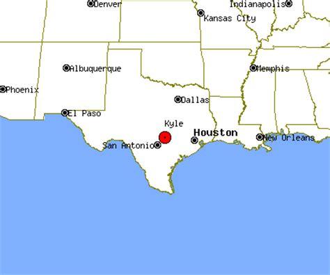 kyle texas map kyle texas map