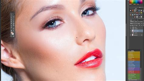 photoshop cs3 skin retouching tutorial photoshop tutorial flawless skin retouching frequency