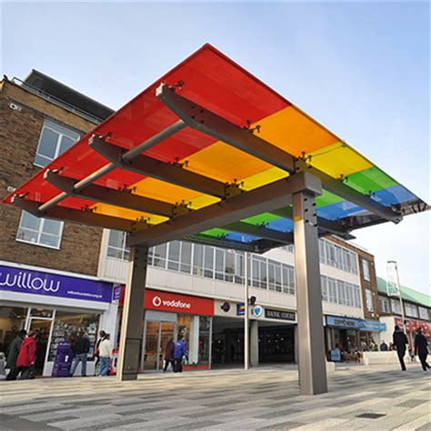 Canopy Shopping Bespoke Canopy For Marlowes Shopping Area