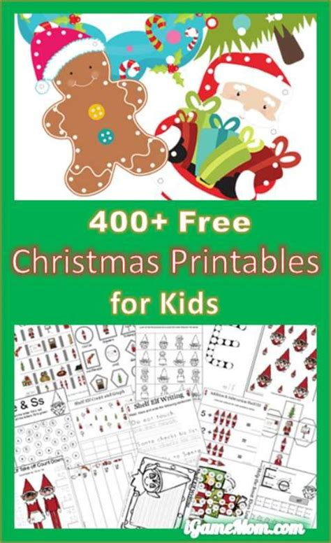 christmas themed worksheets for preschool 1000 images