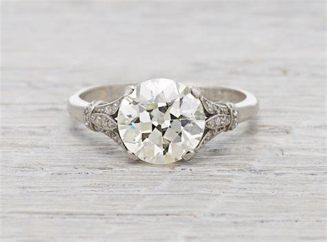 top 6 vintage engagement rings of 2015 erstwhile jewelry