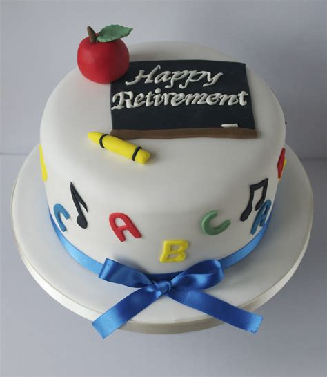 Apps For Decorating Your Home Teacher Retirement Cake