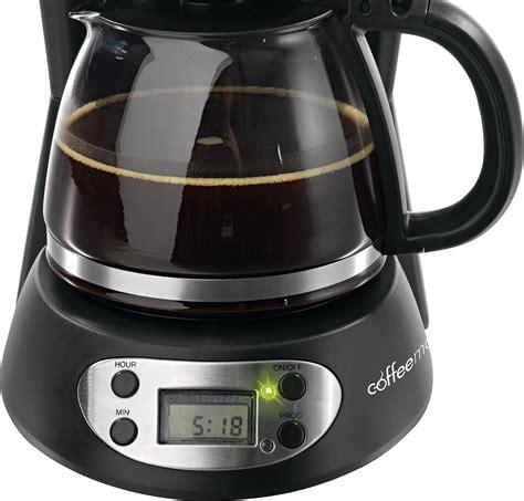 kaffeemaschine coffeemaxx kompakt schwarz