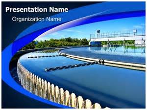 water treatment plant powerpoint template background