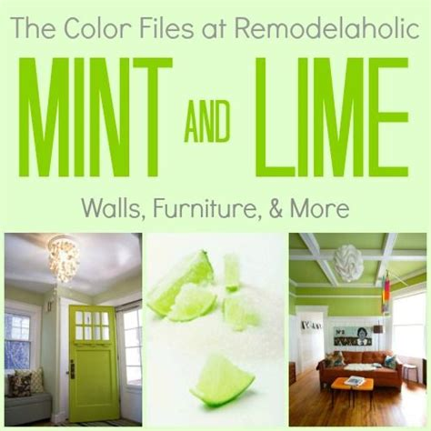 lime green kitchen summer colour schemes and home trends 3142 best remodelaholic favorites images on pinterest