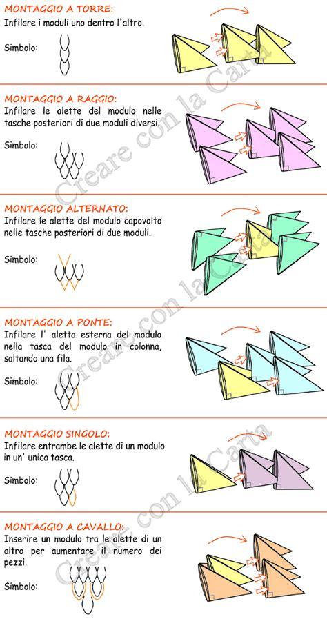 tutorial origami 3d in italiano creare con la carta gli origami 3d in modo facile e veloce