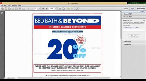 bed bath beyond mobile coupon 17 best images about bed bath beyond coupons on pinterest