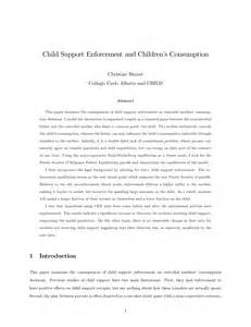 Child Support Letter Between Parents Child Support Agreement Between Parents Form Free Printable Documents