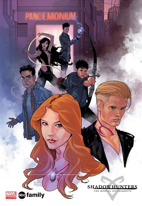 new york comic con shadowhunters gets a marvel lous make over
