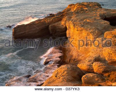 relaxing video of ocean waves at devils punch bowl youtube the sea devils stock photo royalty free image 68032784